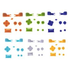 Full Button Set Plastic for GBA Game Boy Advance SP A B Select Start Power On Off L R Buttons D Pad Part Replacement