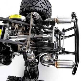 2 Hole Exhaust Pipe Silencer Power Riser Rear Bumper fit 1/5 ROFUN HPI BAHA RV KM 5B 5T gtb racing 2 speed system hpi km rv baja 5b ss 5t 5sc
