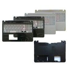 Escudo do portátil para sony vaio svf152 svf15 fit15 svf153 svf1541 svf152a29v palmrest capa superior/capa inferior