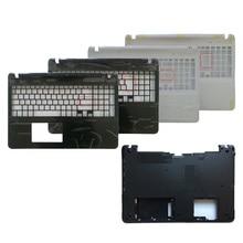 Laptop shell FOR Sony vaio SVF152 SVF15 FIT15 SVF153 SVF1541 SVF152A29V Palmrest upper Cover/bottom case cover