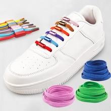 Shoe-Laces Yarn Metal-Lock Semicircle No-Tie Elastic Lazy 1M High-Stretch Portable