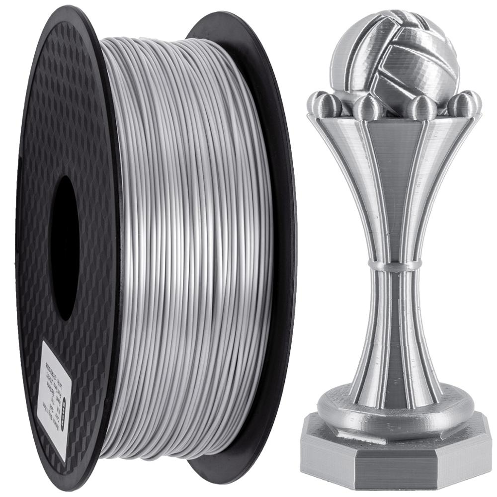 1KG Slik Filament   3D Seiden Filament 1.75mm PLA Slik Filament 3D Drucker Printer|3D Printing Materials| |  - title=
