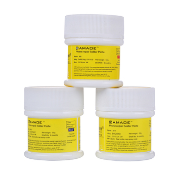 50g Solder Flux Paste Lead free/Leaded Soldering Tin Paste for Circuit Board SMT SMD BGA Mobile Phone Repair Tools