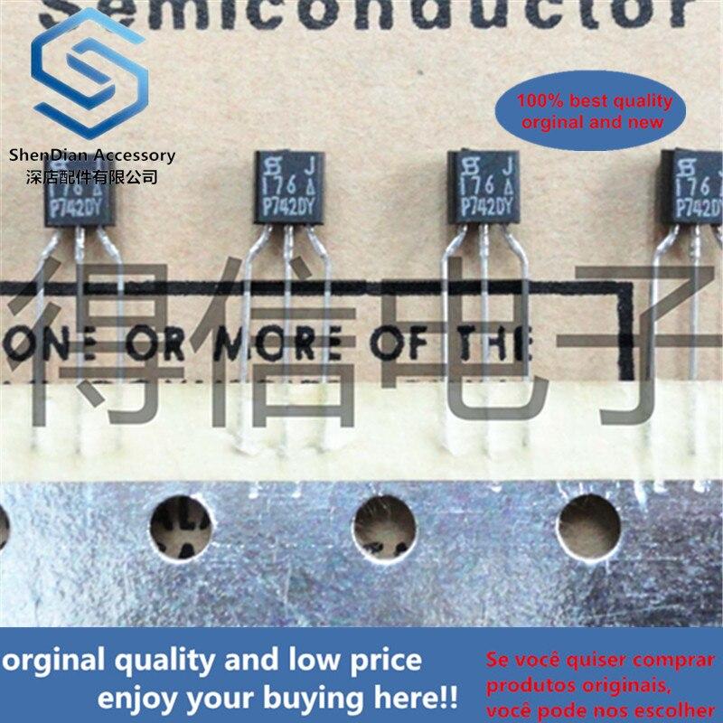 10pcs 100% Orginal J176 176  TO-92 P-channel Silicon Field-effect Transistors Real Photo