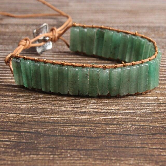 Bracelet Aventurine Elastique