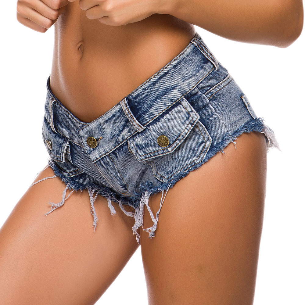 Sexy ultra short jeans woman low waist raw pants hot tight nightclub hot girl denim shorts summer casual ladies sexy short jeans Jeans Women Bottom ! Plus Size Women's Clothing & Accessories