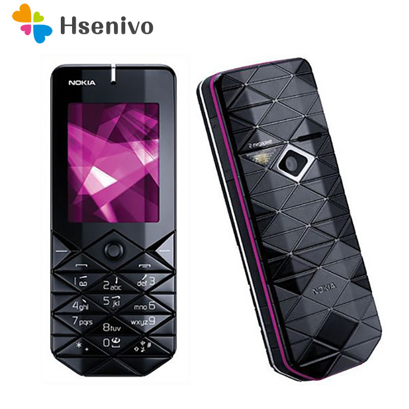 7500 Original Unlocked Nokia 7500 Mobile Phone 2.0 inch 2G With Bluetooth Cellphone Free Shipping image