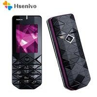 7500 Original Unlocked Nokia 7500 Mobiele Telefoon 2.0 inch 2G Met Bluetooth Mobiel Gratis Verzending