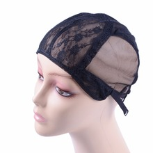 Wig-Cap Making-Wigs Cap-Size Good-Quality Hair-Net Adjustable-Strap Back-Weaving