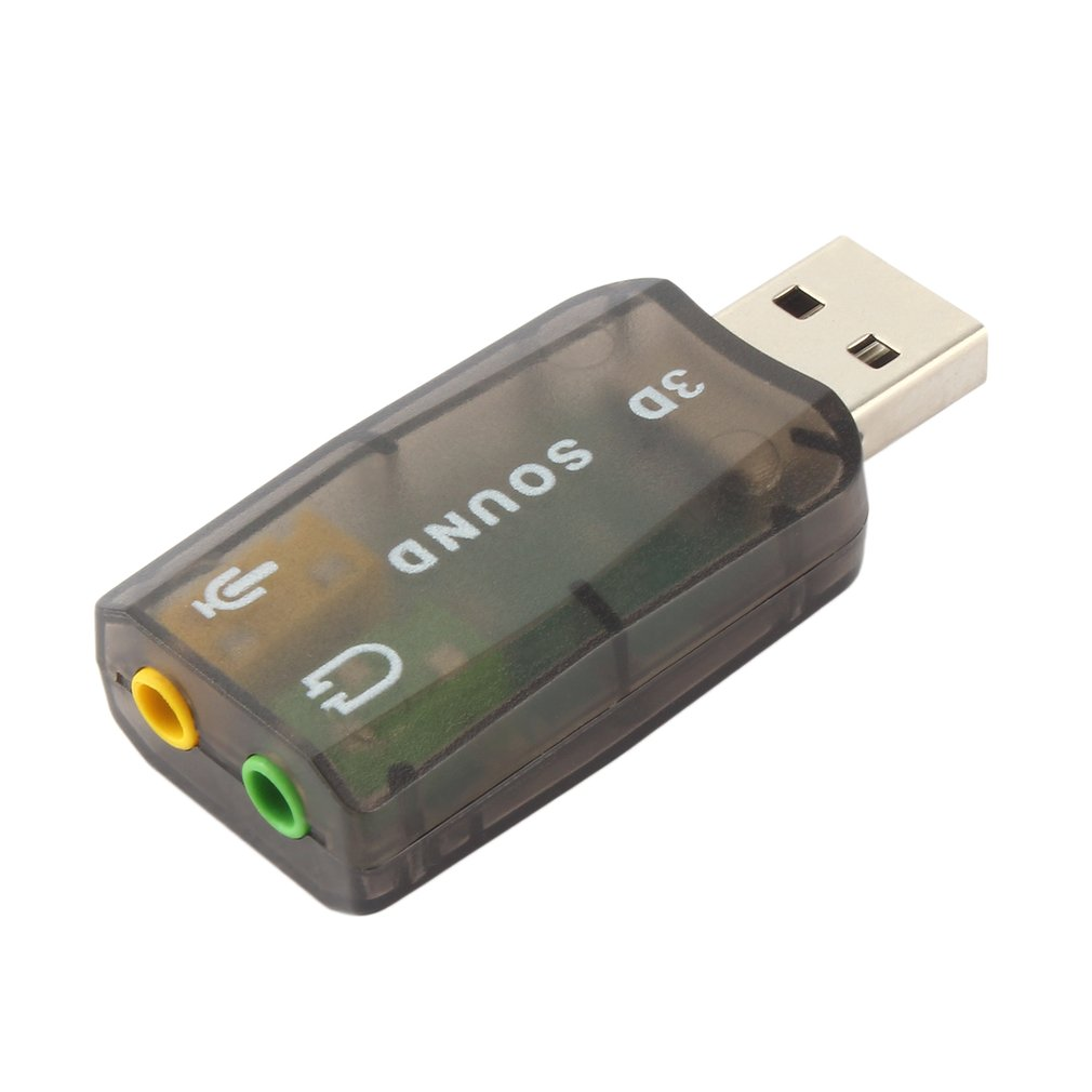 High Quality  USB 2.0 Audio Headset Microphone Jack Converter Adapter