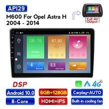 1280x720 HD Android 10,0 DSP CarPlay Auto Radio Multimedia Video Player Auto Stereo Für Opel Zafira B Astra H 2005-2014 2 din dvd
