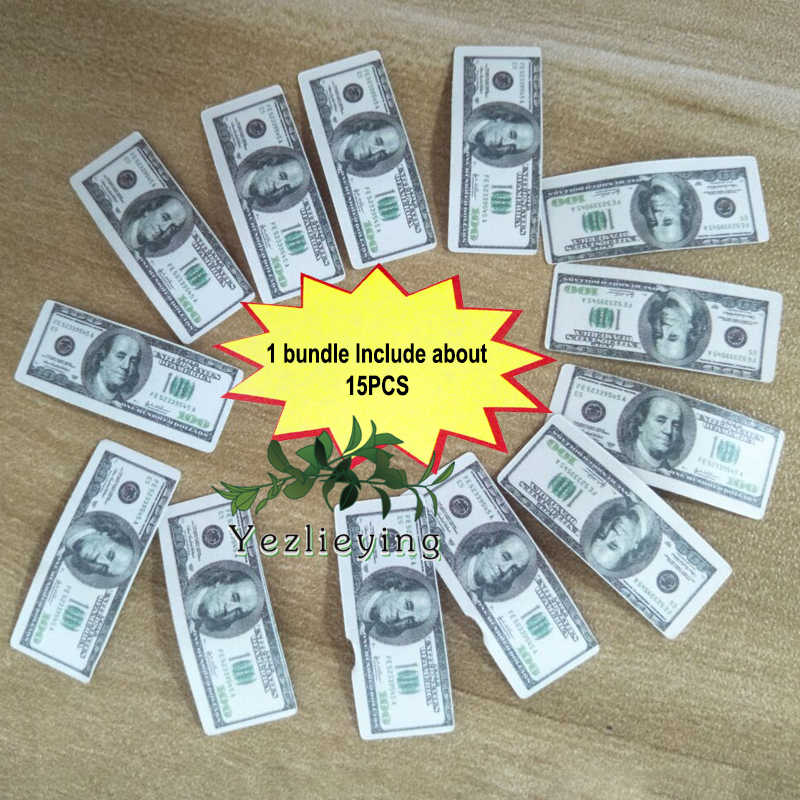 """1//6 Scale Cash Model Dollars For 12/"""" Figure Body Hot Toys"""