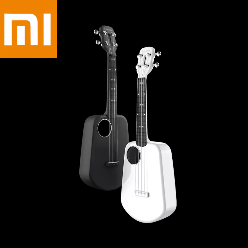 Xiaomi Mijia Populele 2 Ukulele LED Smart  Concert  Bluetooth Ukulele 4 Strings 23 Inch  Acoustic Electric Guitar