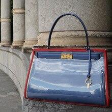 2 Sizes Casual Tote Luxury Handbags Women Bags Designer PU L