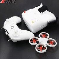 EMAX EZ Pilot 82MM Mini 5.8G kryty FPV Racing Drone z kamerą gogle okulary RC Drone 2 ~ 3S RTF wersja dla początkujących