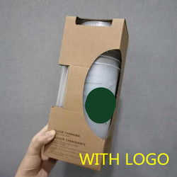 700ml Stroh Tasse Mit Logo Mit Deckel Wiederverwendbare Tassen Kunststoff Tumbler Kalte Kaffee Becher Weihnachten Party Geschenk Unterstützung Dropship großhandel