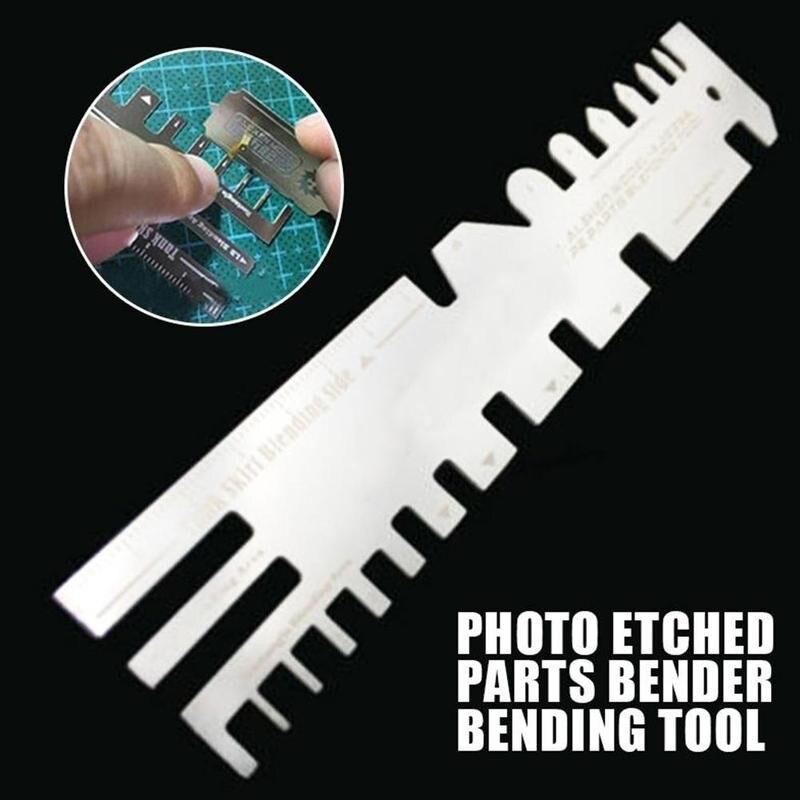 Специальный ручной тиски, гибкие плоскогубцы, модель режущего ножа, вспомогательная линейка, травление пленки