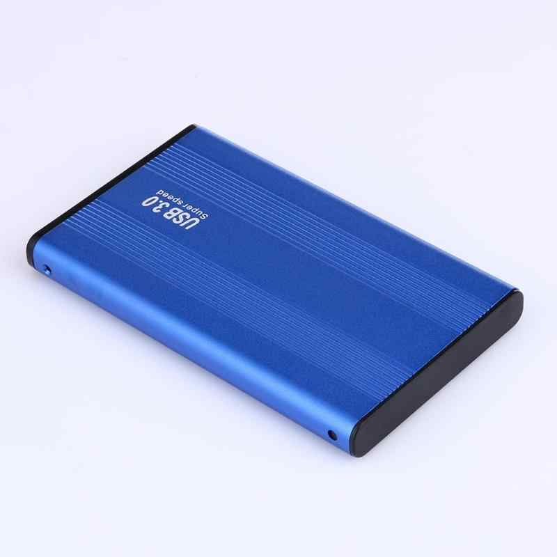 "2,5 ""USB 3,0 SATA disco duro externo HD carcasa Super velocidad HDD disco duro externo carcasa para Windows Mac OS"
