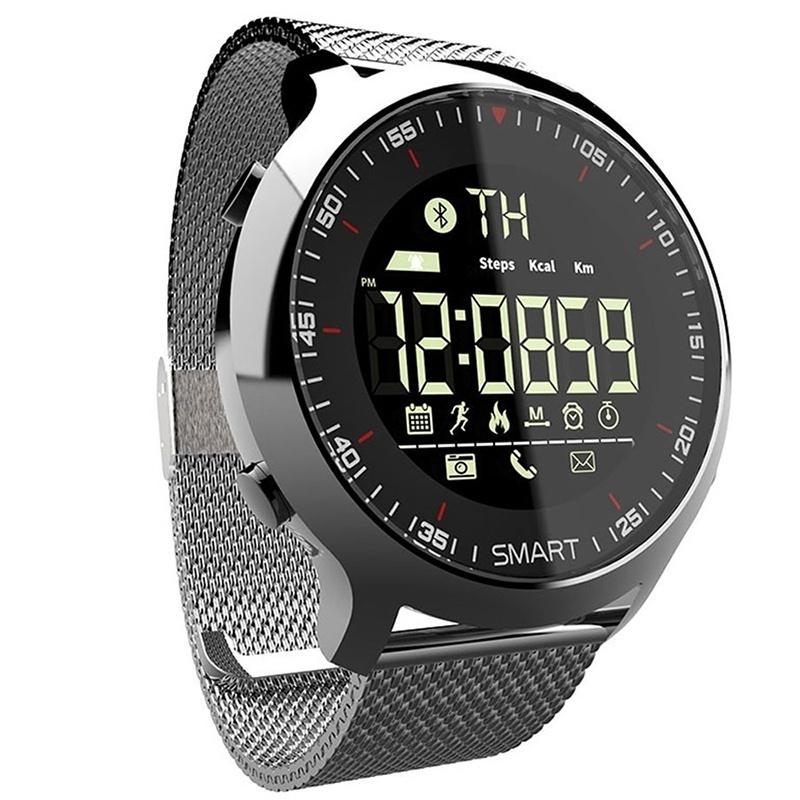 <font><b>Smart</b></font> <font><b>Watch</b></font> IP68 Waterproof 5ATM Message Reminder Fitness Tracker Wristwatch Long Standby Time Backlight Pedometer Bracelet image