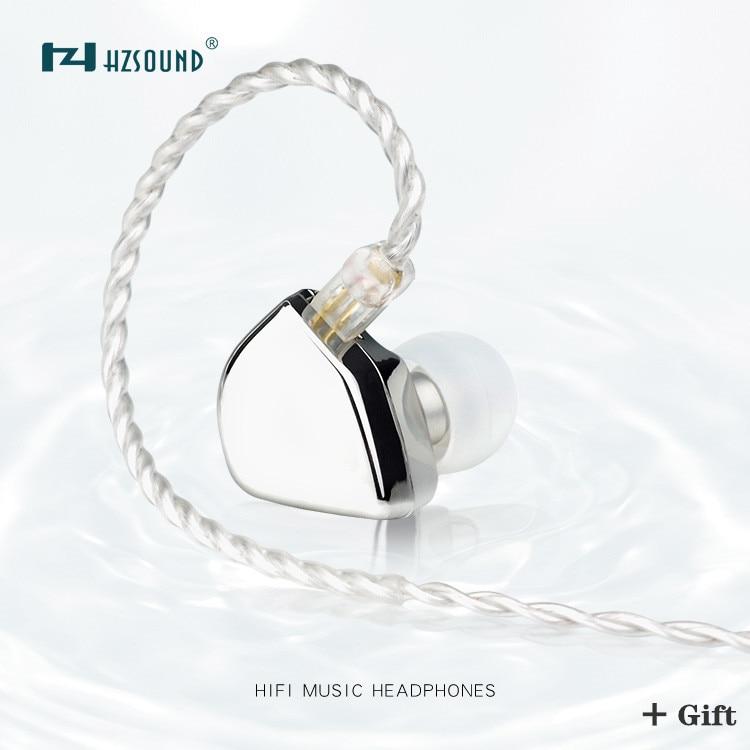 Наушники-вкладыши HZSOUND в форме сердца, 10 мм, с ЧПУ, Hi-Fi гарнитура, DJ монитор, наушники-вкладыши с 2-контактным кабелем 0,78 мм OFC
