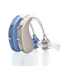 Audífono Digital recargable para ancianos y sordos, ayuda para la pérdida severa BTE, amplificador de sonido, reducción de ruido, 1 ud.