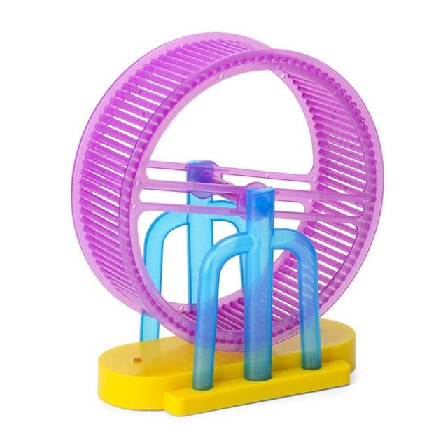 Hamster Roller Electric Toy Led Light Plush Hamster Runner Running Cage Ball New Strange Led Light Music Hamster Wheel 1