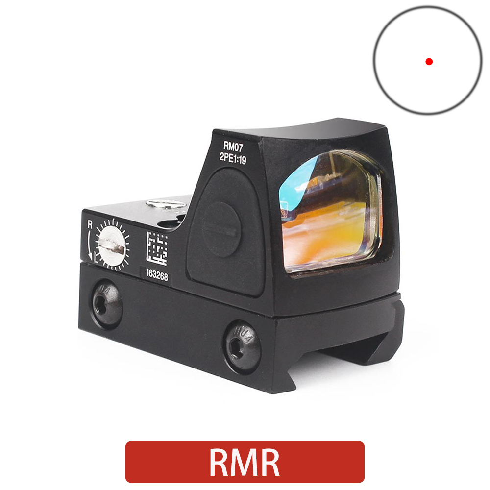 Tactical Red Dot RMR Red Dot Sight Collimator Hunting Sight For 20mm Rail Mount Holographic Sight Discovery Range