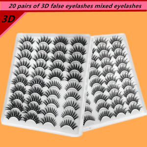 20 pairs makeup false eyelashe