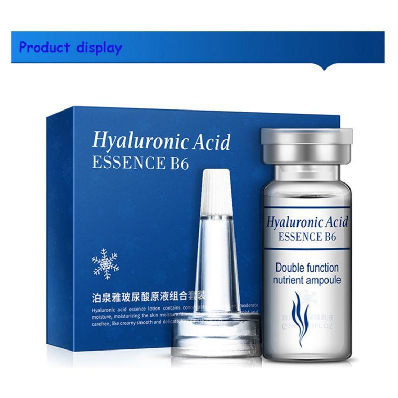10 pçs soro hidratante ácido hialurônico vitaminas