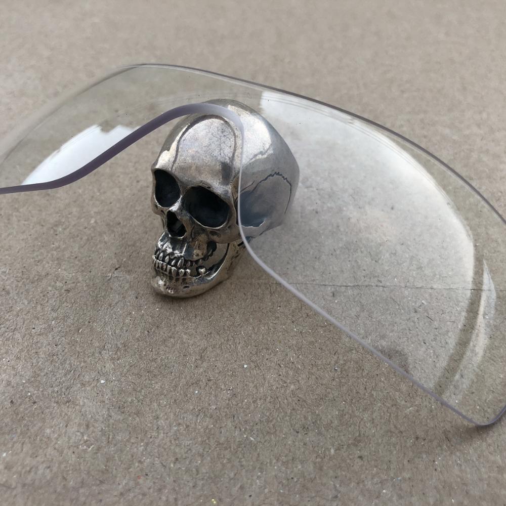 Firtox gerçek gelişmiş yedek lensler-Oakley Batwolf OO9101 Sunglass (olmayan polarize Lens)-Crystal Clear