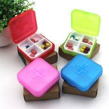 Container Storage-Box-Holder Medicine-Organizer Drug-Dispenser Pill-Cases Travel Portable