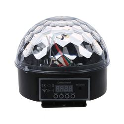 DMX512 beleuchtung szene DJ Disco birne LED RGB lampe Kristall Ball Scheinwerfer soiree club bar