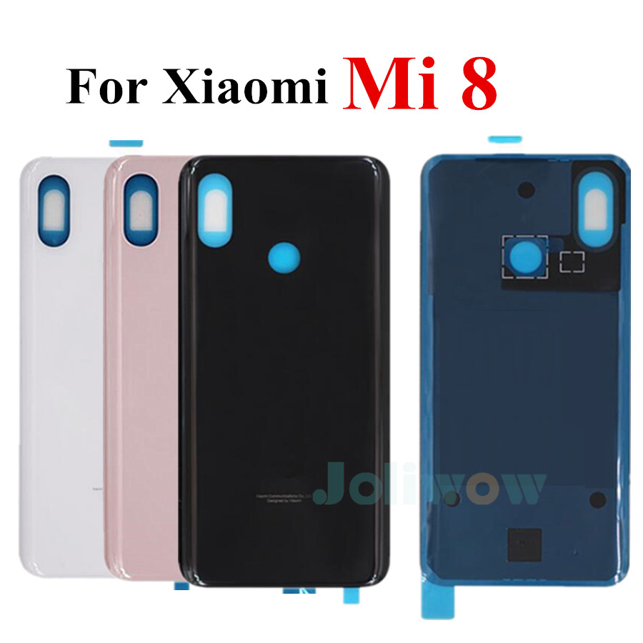 New For <font><b>Xiaomi</b></font> <font><b>mi</b></font> <font><b>8</b></font> mi8 Back Glass <font><b>Battery</b></font> <font><b>Cover</b></font> Rear Door Housing Case <font><b>Cover</b></font> <font><b>mi</b></font> <font><b>8</b></font> Replacement For <font><b>xiaomi</b></font> <font><b>mi</b></font> <font><b>8</b></font> <font><b>cover</b></font> image