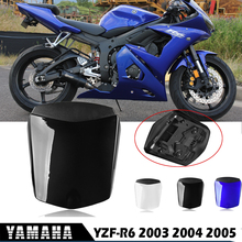 YZFR6 Accessories Rear Seat Cowl Fairing Hard Seat Cover ABS Plastic Blue Black White for Yamaha YZF R6 YZF-R6  2003 2004 2005 abs road racing motor fairings kit for yamaha r6 2003 2004 2005 yzf r6 03 04 05 white red fairing kits