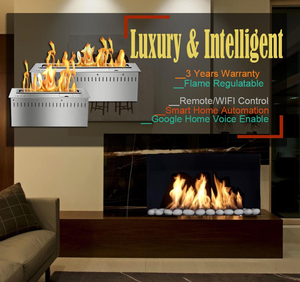 Inno Living 30 Inches Fire Place Burner Ethanol Gel Stoves