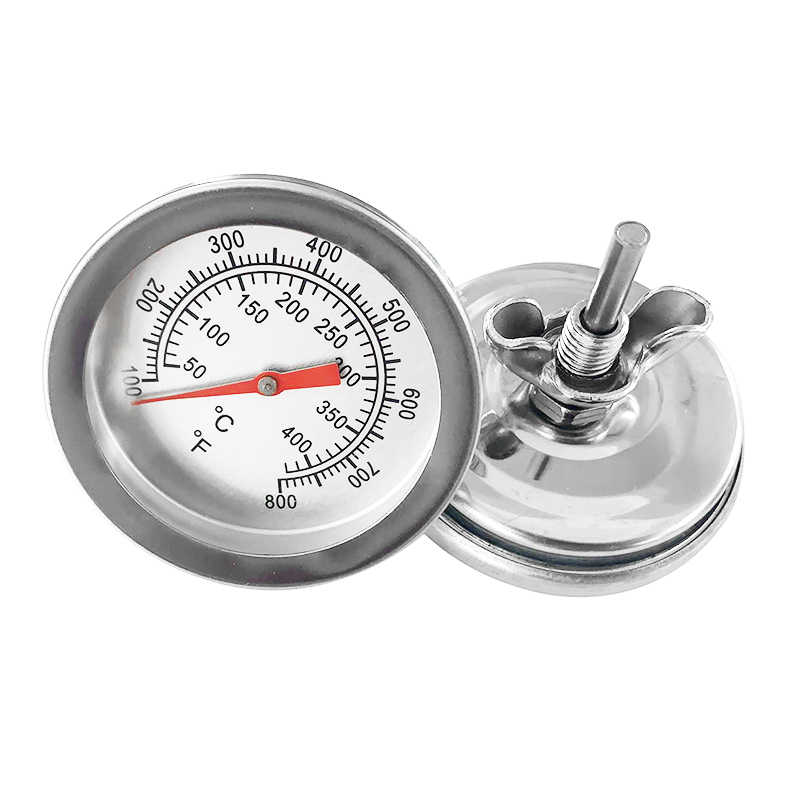 50-400 Graden Celsius Rvs Barbecue Bbq Roker Grill Thermometer Koken Gauge Oven Thermometer