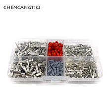 400 Pcs VW 1.5 3.5 MM Auto Electric Female And Male Wire Terminal Box With Seals 964274-2 964269-2 929939-3 964286-1 964296-1