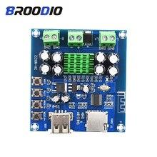 TPA3116D2 Amplificador Bluetooth Amplifier Board Dual Channel 2*50W DC12 24V Support TF Card U Disk Speaker Audio Amplifiers