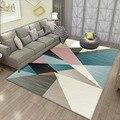 Современный ковер для гостиной  Детский ковер для спальни  большой размер  геометрический Коврик для детской деятельности  офисные ковры  к...