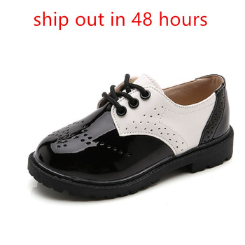 New Spring Summer Autumn Kids Shoes For Boys Girls British Style Children's Casual Sneakers PU Leather Fashion - discount item  20% OFF Children's Shoes