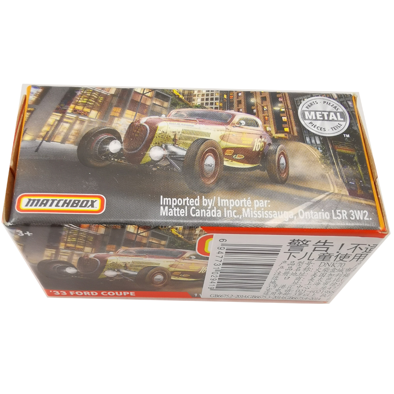 2020 Matchbox Cars 1:64 Car 33 FORD COUPE Metal Diecast Alloy Model Car Toy Vehicles