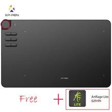 Xp pen Deco 03 kablosuz dijital grafik çizim tableti cetvel kalemi Tablet pil ücretsiz pasif Stylus ve 6 kısayol