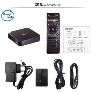 Image 5 - X96 mini Android 7.1 TV BOX 2GB 16GB Amlogic S905W Quad Core 2.4GHz WiFi Media Player 1GB 8GB X96mini Set top Box with IR Cable