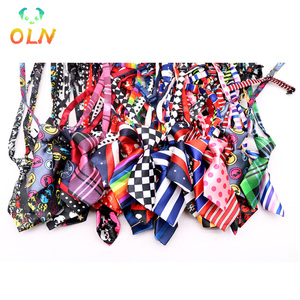 50 Pcs Multi-color Dog Tie Cat