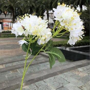 """20P Fake Short Stem Wild Clove 25.59"""" Length Simulation Leptodermis Potaninii for Wedding Home Decorative Artificial Flowers"""