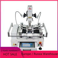 Classic BGA Rework Station LY R690 V.3 3 zones hot air touch screen solder machine with laser point 4300W soldering