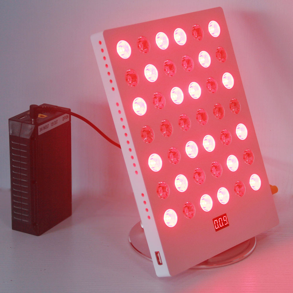 Face Skin Rejuvenation Infrared Light Therapy 660nm 850nm 45W With Timer USB Rechargeable East To Carry For Travel