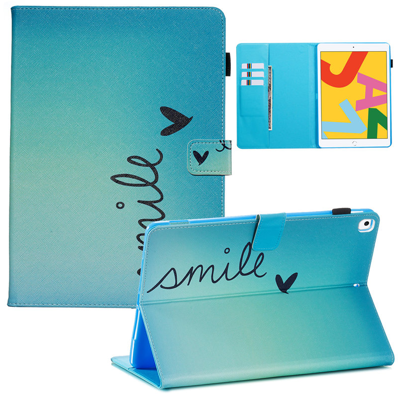 A2200 iPad Skin Cover Smart 2019 10.2 A2232 7th Case for For Apple Generation iPad Funda