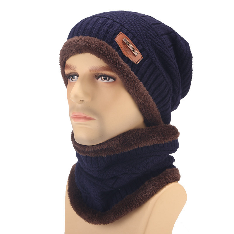 2019 Fashion Winter Hats For Women Beain Hat Kitted Big Ball Gorro Invierno Mujer Winter Scarf And Hat Set Keep Warm