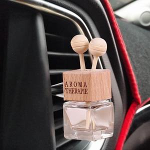 Image 2 - car Air Freshener Essential Oil Car Diffuser Smell Car Air Vent Car Perfume Auto Decoration Pendant Lavender car accessory TSLM1